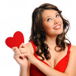 Who will be my valentine? — Stock Photo