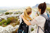 Hikers getting lost — Stock Photo
