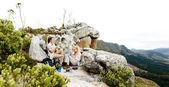 Hiking panorama — Stock Photo