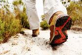 Hiking boot — Stock Photo