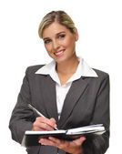 Attractive busineswoman — Stock Photo