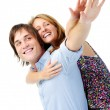 Flying couple — Stock Photo #28392315