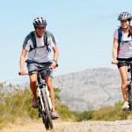 Bike couple — Stock Photo #28393099