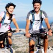 Bike couple — Stock Photo