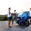 Stock Photo: Bicycle panorama
