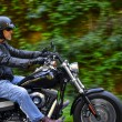 Motorbike man has freedom — Stock Photo #28398917
