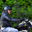 Motorbike man has freedom — Stock Photo #28398919