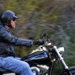 Motorbike man has freedom — Stock Photo #28398923