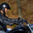 Motorbike man has freedom — Stock Photo #28398925
