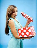 Recevez un cadeau — Photo