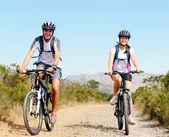 Bike couple — Stock Photo