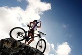 山地自行车饮料 — 图库照片
