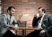 Business meeting discussion — Stock Photo