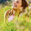 Happy woman outdoor — Stock Photo #28404075