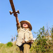 Stock Photo: Young explorer