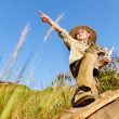 Young explorer — Stock Photo