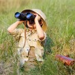 Stock Photo: Safari boy