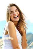 Happiness woman — Stock Photo