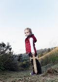 Adventure girl — Stock Photo
