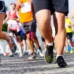People running marathon — Stock Photo #28412043