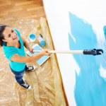 Painting woman — Stock Photo #28417635