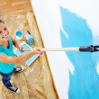 Painting woman — Stock Photo #28417875