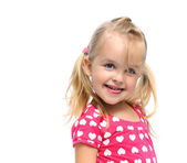 Joyful young girl — Stock Photo