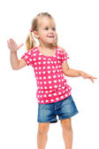 Child groove dance — Stock Photo