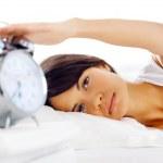 Waking up woman — Stock Photo #28422799