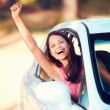 Happy driver — Stock Photo #28423123