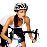 Постер, плакат: Woman cyclist