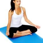 Постер, плакат: Yoga lotus pose