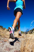 Atleta corriendo rápido — Foto de Stock