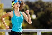 Endurance athlete portrait — Stock Photo