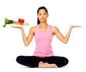 Vegetable balance — Stock Photo
