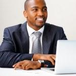Friendly entrepreneur — Stock Photo