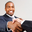 Business diversity handshake — Stock Photo