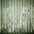 Stock Photo: Corrugated poster