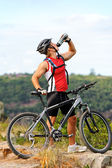 Healthy outdoor lifestyle man — Stock Photo