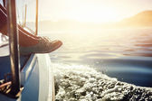 Sailing lifestyle — Stock Photo