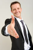 Young caucasian professional — Stock Photo