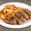 Romanian meat rolls with potatoes — Stock Photo #13637166
