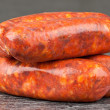 Spanish chorizo — Stock Photo