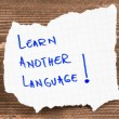 Learn Another Language — Stock Photo #39505623