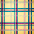 Tartan plaid pattern background — Imagen vectorial
