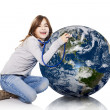 Checking the planet health - Stock Photo