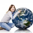Checking the planet health — Stock Photo #12860546