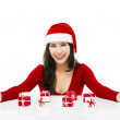 Santa Woman — Stock Photo #14151180