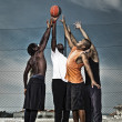 Street basketball team — Stock Photo #18471287