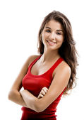 Beautiful girl — Stock Photo